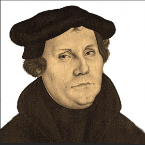 Luther Portrait by Cranach
